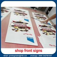 Quality Water Proof Promotional Front Porch Wall Flags Signs for sale