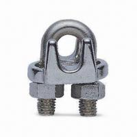 Quality Long Type Wire Rope Clip, Made of Stainless Steel, Available in Various Sizes for sale