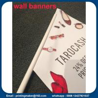 Quality Custom Outdoor Wall Hanging Flags Banners for sale