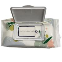 Quality Digital Printing Custom Packaging Bags Side Gusset Wet Wipes Mid Seal Plastic Material for sale