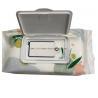 Buy cheap Digital Printing Custom Packaging Bags Side Gusset Wet Wipes Mid Seal Plastic from wholesalers