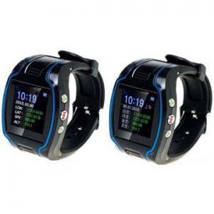 Quality 163dBm 850MHz / 900MHz Wrist Watch Gps Personal Tracker for sale
