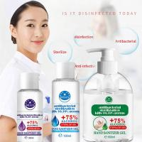 Quality 50ml 75% Alcohol Antibacterial Hand Sanitizer Moisturizing Liquid No Smell for sale