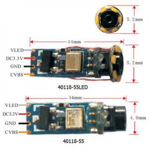 "Quality Medical endoscope camera module, 1/18"" CMOS, 4mm wide, 320×240, DC3.5V~5V for sale"