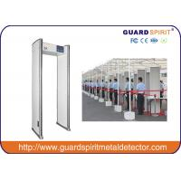 Quality Public Security Check Walk Through Metal Detector 6 Detecting Zones , Walk Through Scanner for sale