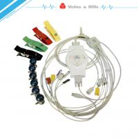 China Resting Portable Ecg Recorder , White 12 Lead Ecg Machine For Medical on sale