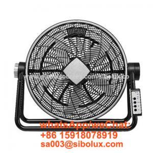 "Quality 20 inch electric high velocity floor fan with 3 speeds/20"" Ventilador de piso de alta velocidad for sale"
