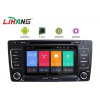 Quality Skoda Octavia Vw Dvd Player , Vehicle Dvd Player With BT Canbus Rear Camera for sale