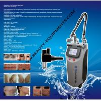 Quality Pixel co2 laser skin resurfacing With RF Metal Tube 10600nm Skin Peeling Laser System for sale