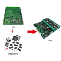 Quality 6 Layer ENIG 1OZ Fr4 Electronic PCB Assembly for sale