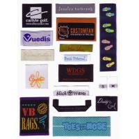 Quality woven label for high collection wear vogue men's fashion for sale