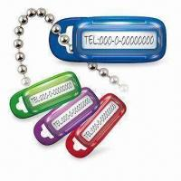 Quality 37.5 x 15 x 7mm Pet ID Boxes in Lock Type, with Ball Chain, Can Be Used to Protect Valuables for sale