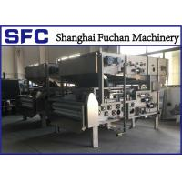 Quality SUS 304 Belt Filter Press Dewatering Equipment With Continuous Auto Running for sale