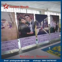Quality 80X180 cm Aluminum X Stand Banner Printing for sale