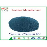 Quality Professional C I Vat Blue 6 Blue BC Blue Vat Dye 100% Purity ISO Approve for sale