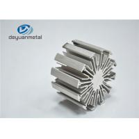 Best Heat Sink Silver Anodizing Extruded Aluminium Profiles / Extruded Aluminum Shapes wholesale