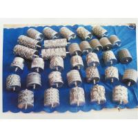 Decorative Stenter Machine Parts Non - Woven Fabric Silver Pattern Roller