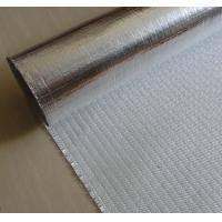 Quality Fire Retardant Aluminized Fiberglass Fabric ALFW600 With Strong Light Reflection for sale