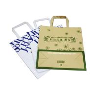 Quality Kraft flat portable shopping bag for sale