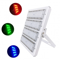 Quality IP66 150W RGB LED flood light with 3 years for outdoor lighting fixture. for sale
