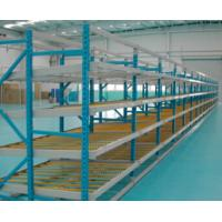 Quality Effective Carton Flow Rack , ABS Skate Wheels  Carton Warehouse   Industrial Storage for sale
