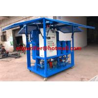 Quality China Insulation Oil Purifier/ Mobile Transformer Oil Purification Machine Filtration with Enclosure weather proof IP for sale