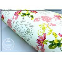 Best Pretty Rose Scented Drawer Liners Sheet With Custom Printed wholesale