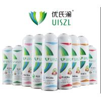 China refrigerant gas R134a 1000g uiszl brand small can on sale