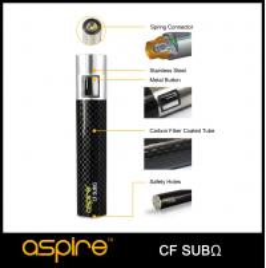 Quality Aspire CF sub ohm battery 2000mah 18650 series battery aspire CF mod for sale