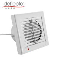 Buy cheap Deflecto Bathroom Ventilation Fan Louvered Roof 5 Inch 120mm Extractor Fan from wholesalers