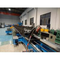 Quality Channel Cable Tray Roll Forming Machine Non Stop Cutting Type With Auto Stacker for sale