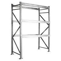Quality Outdoor Custom Metal Shelving , Hot Dipped Galvanized Pallet Racking Components for sale