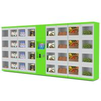 China Street / College / Airport Automated Refrigerator Food Locker Vending Machines With Different Size Doors on sale