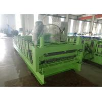 China Automatic Hydraulic cutting Roof And Wall Panel Steel Sheet Roll Forming Machine on sale