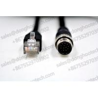 Best Industrial Ethernet Cables M12 TO RJ45 Cables 3meter 10ft Black GigE Vision Cables / Networking Cables wholesale