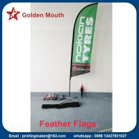 Quality Custom Feather Flags Banners For Outdoor Advertising for sale