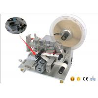 Quality SUS304 Stainless Semi Automatic Table Top Bottle Labeling Machine 20 - 50 Pcs/Min for sale
