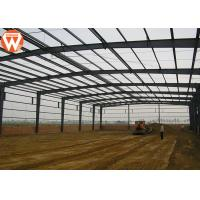 Buy cheap High Strength Prefabricated Steel Structure Warehouse Waterproof And Fireproof from wholesalers