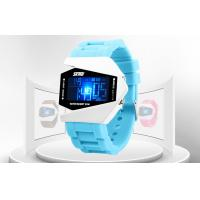 Quality OEM Silicone Multifunction LCD Digital Watches EL Backlight With RoHS for sale