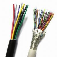 China Multicore Control Cable, Made of PVC, PE and PU Materials on sale