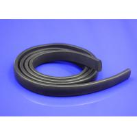 Quality Square Silicone Door Foam Seal Strips , Shear Bonding Extruded Rubber Strips for sale