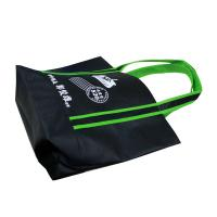 China Black Promotional Fabric Carrier Bags For Shopping Eco Friendly on sale