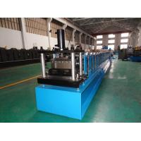Quality Twin Row Galvanized Steel Vineyard Post Roll Forming Machine Deliver To Spain for sale