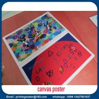 Quality Quality Canvas Print Poster Banner for Aluminum Wall Frame for sale