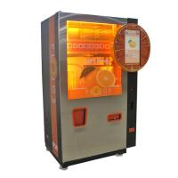 Buy cheap Automatic Orange juice vending machine with cup lid with CE Certificate from wholesalers