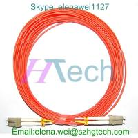 China 10Meter LC/LC Multimode Duplex Fiber Optic Patch Cable on sale