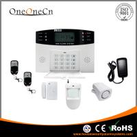 Quality Remote Control GSM Security Alarm Systems Home Anti - Pets for sale