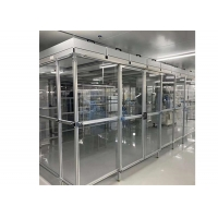 Quality Assembly Line Class 100 Laminar Air Flow Cabinet / Softwall Clean Room for sale