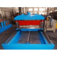 Quality 6-8m/min Servo Flying Punching And Cutting Metal Tile Roll Forming Machine for sale