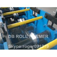 Buy cheap Automatic Metal Purlin Roll Forming Machine PLC vector inverter from wholesalers